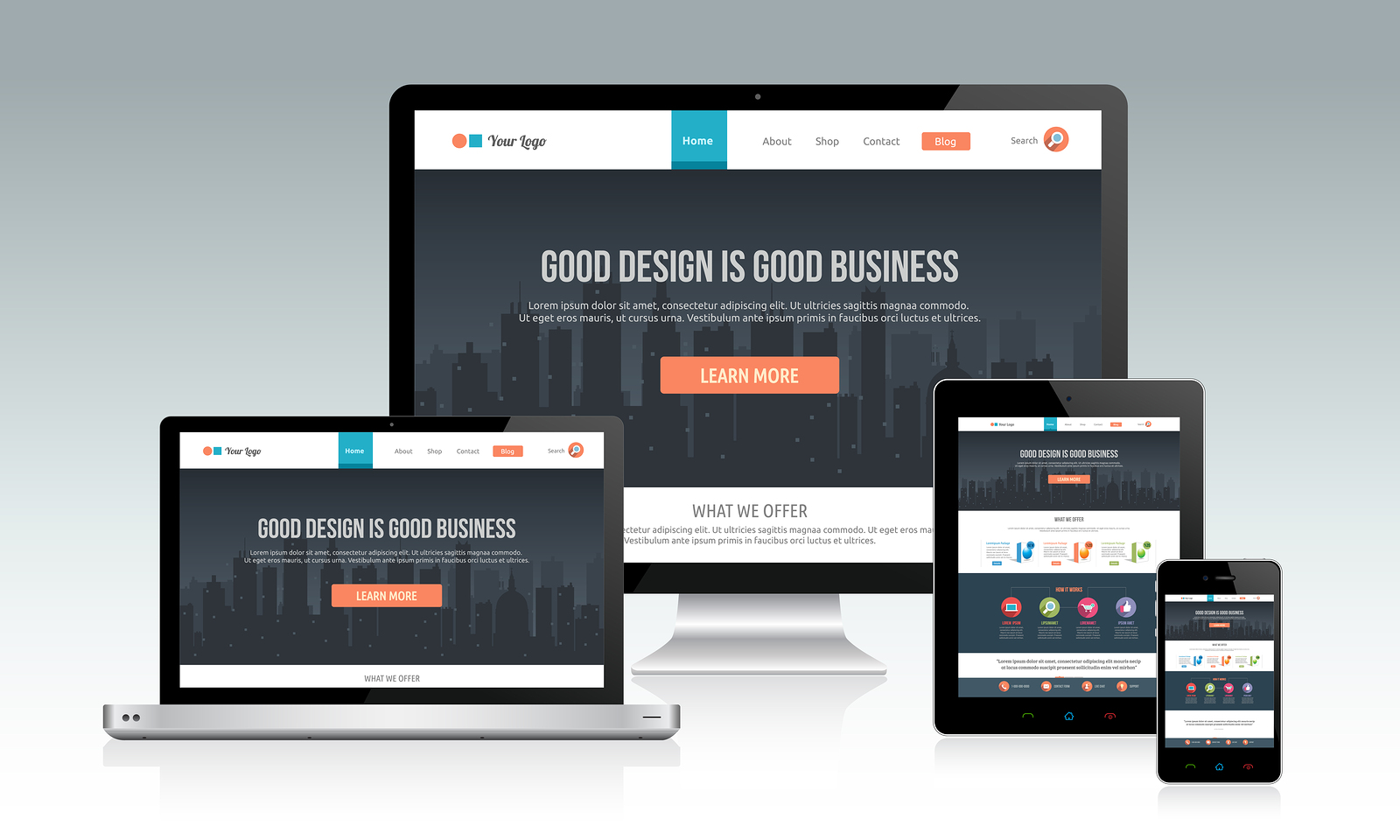 responsive Website Designing services Company in Patna